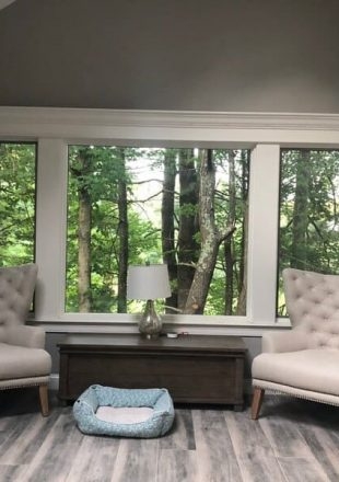 Large Window added to solid wall